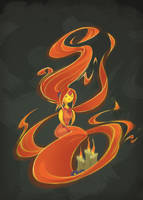Flame Princess by VanGroan