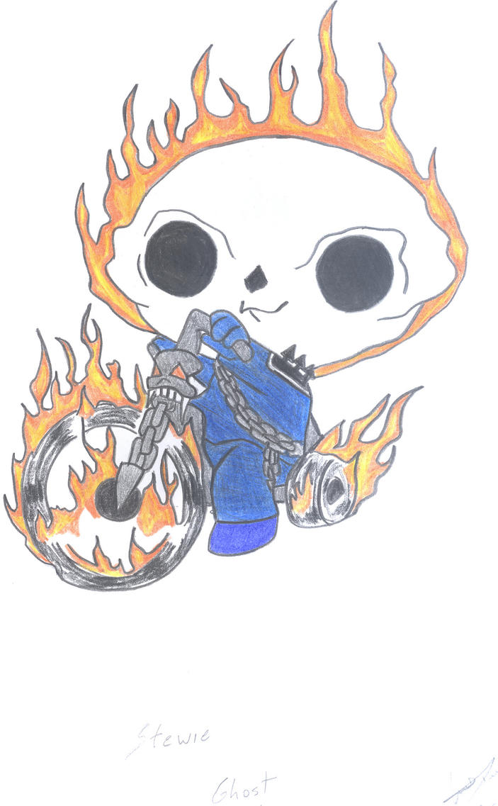 Stewie Ghost Rider by ldrduarte15