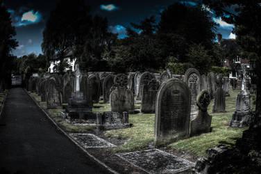 Grave yard Dark by DaveJones-Photograpy
