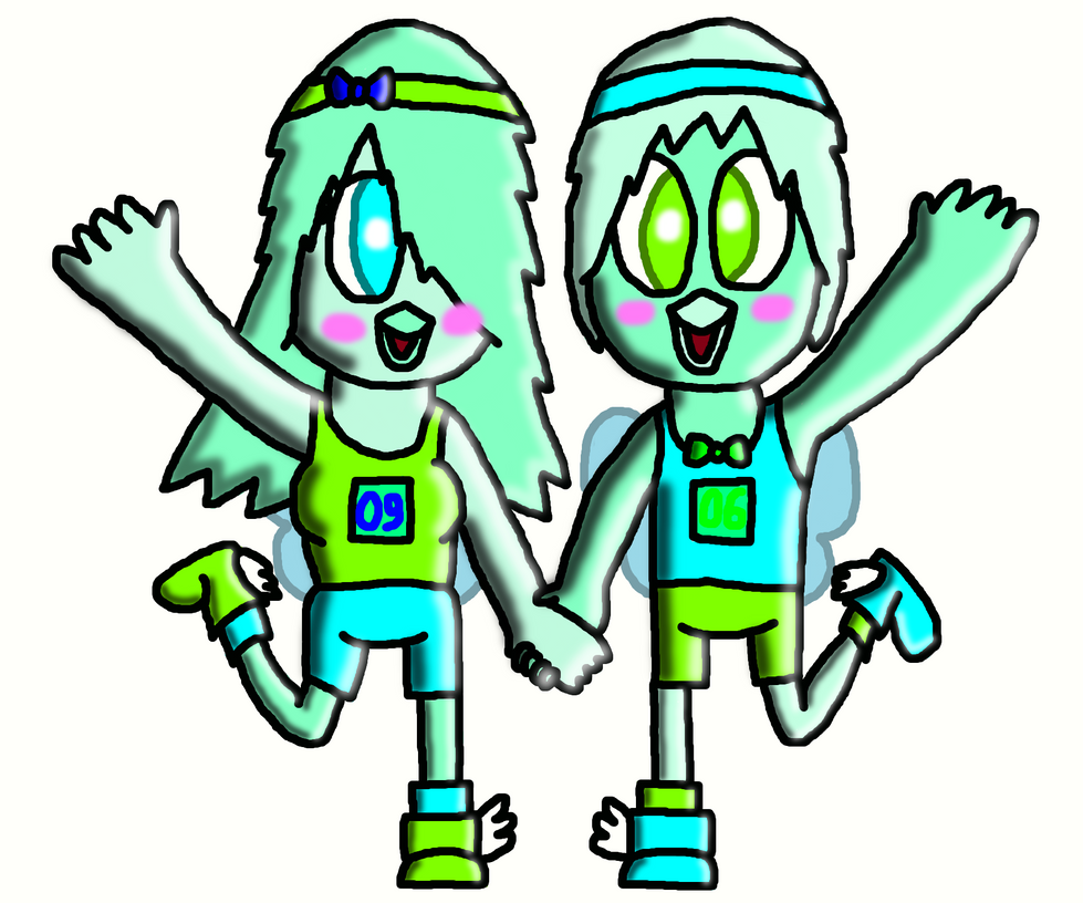 Twin runners by SprixieFan12345