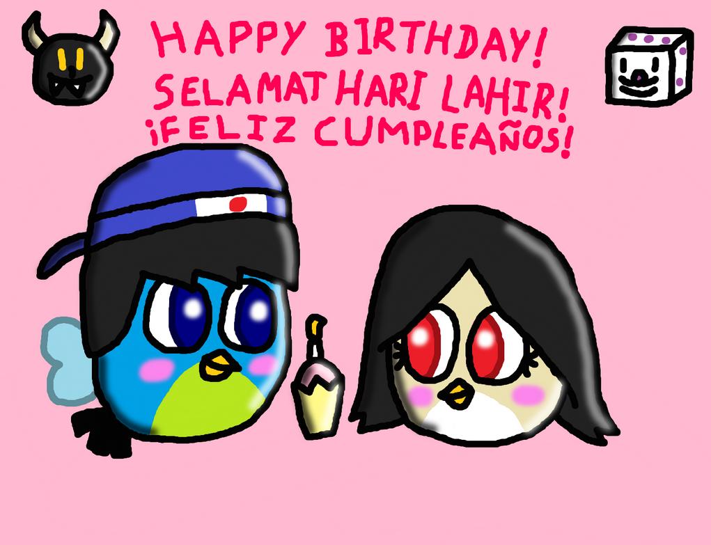 Happy birthday Luckydicey! by SprixieFan12345