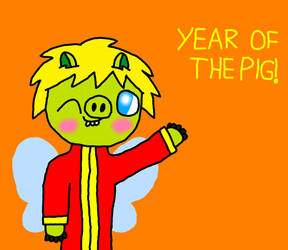 Year of the Pig by SprixieFan12345