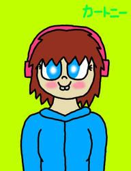 Courtney humanized by SprixieFan12345