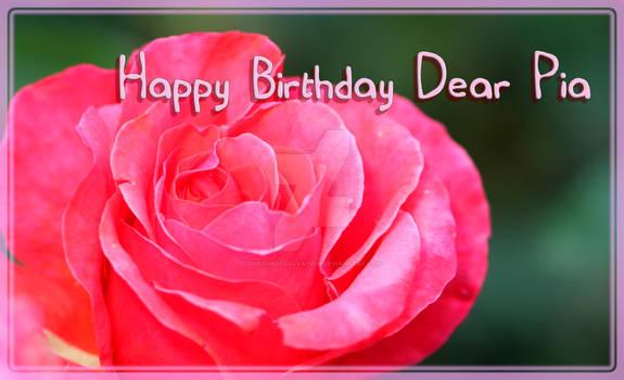 Happy birthday Dear @mockingbirdontree