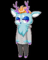 Blue Deer by R3YD1O