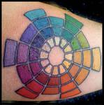 Color Wheel Tattoo