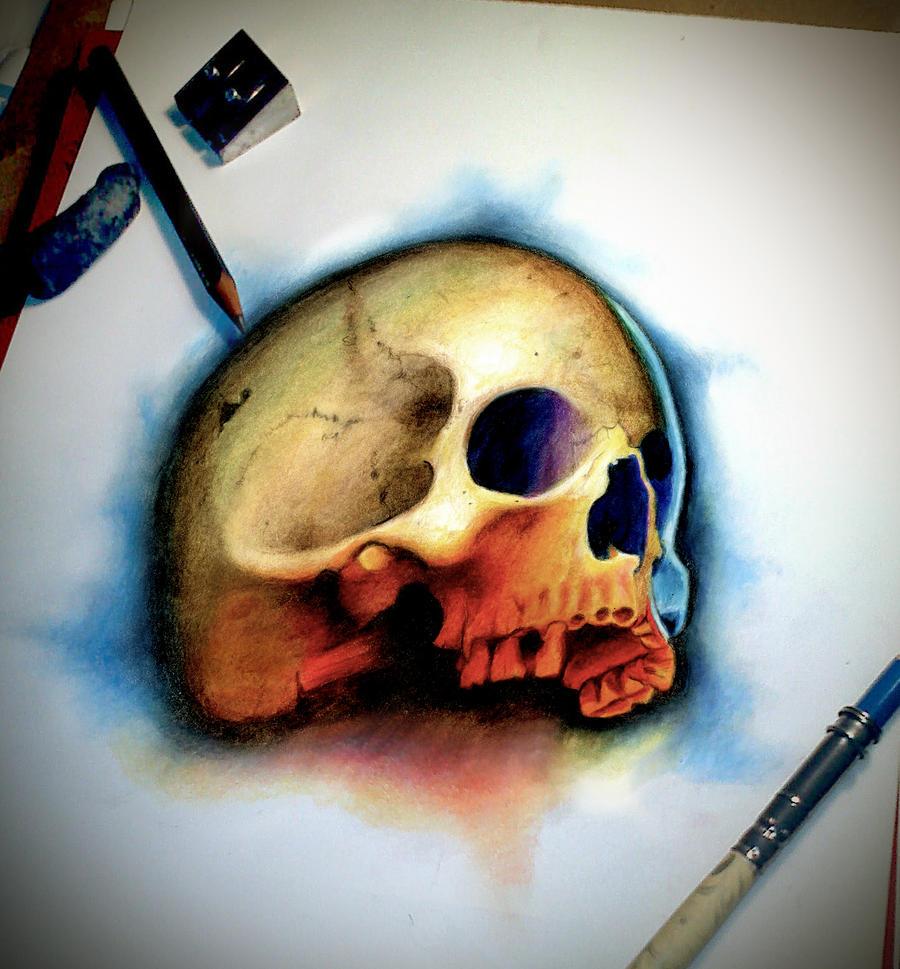 color skull by badfish1111 color skull by badfish1111