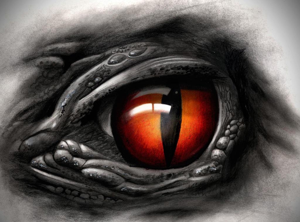 Creepy eye by badfish1111 on deviantart for Eye tattoos designs