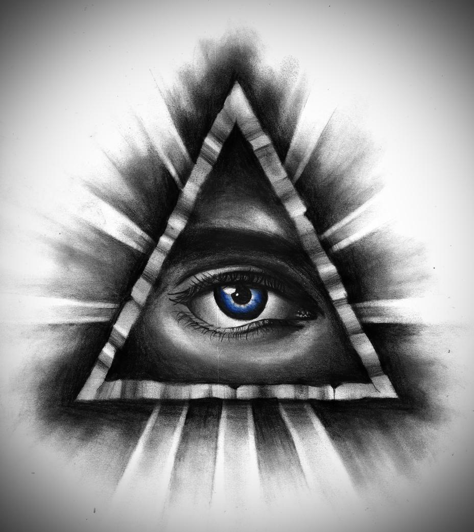 Illuminati tattoo - All Seeing Eye By Badfish1111 On Deviantart
