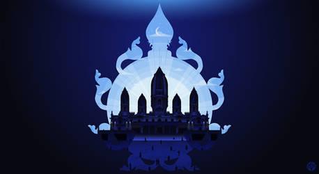 The Radha Krishna Temple aka JK Temple by phildistress