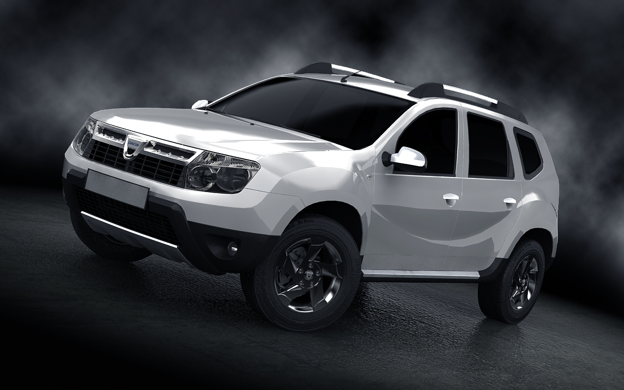 Dacia duster white by salimljabli on deviantart for Interieur duster 2018
