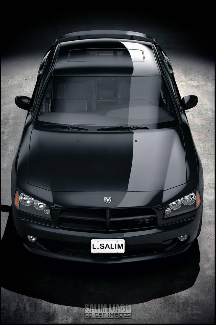 Dodge Charger R-T black
