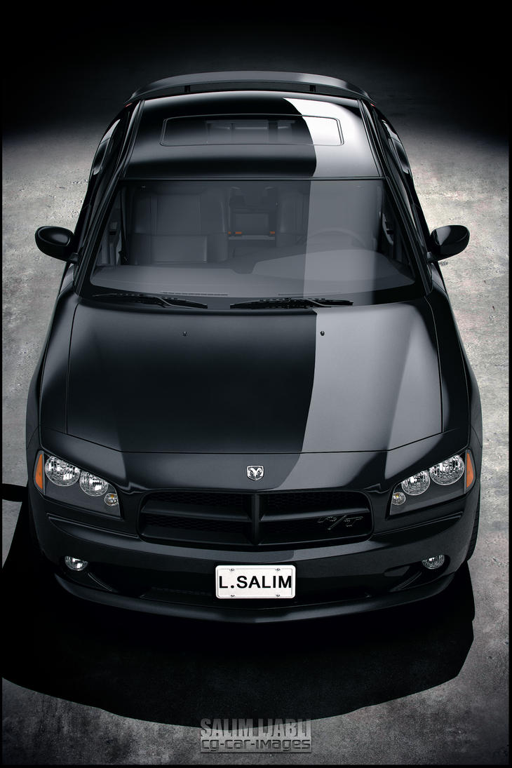 Dodge Charger R-T black by salimljabli