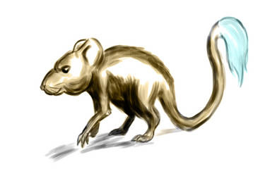 Painter Mouse Digital Sketch by TW2Creations