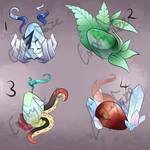 Dragon Egg Adopts! (OPEN 4/4) by EmptyFaze