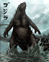 Godzilla Rising by KylePattersonDesign