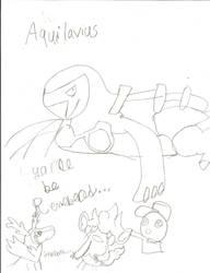 Aquilavus (Carracosta)'s final farewell by Pikafan09