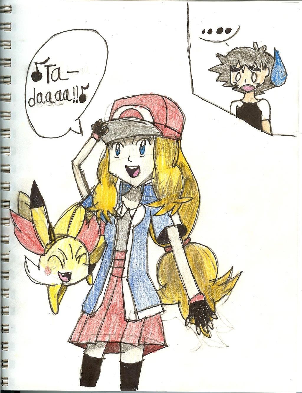 Serena- I'm a Pokemon ...