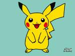 Pokemon Art Academy-Pikachu