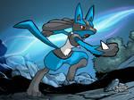 Pokemon Art Academy- Lucario