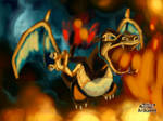 Pokemon Art Academy- Charizard