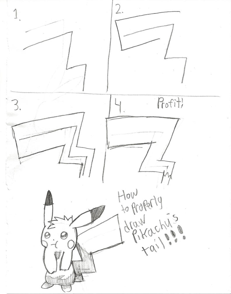 How to properly draw Pikachu's tail! by Pikafan09 on ...