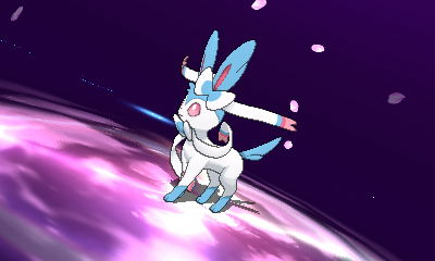 Enter! Shiny Sylveon!! by Pikafan09