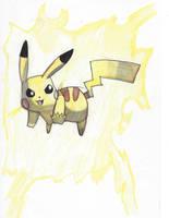 Pikachu used Thunderbolt! by Pikafan09