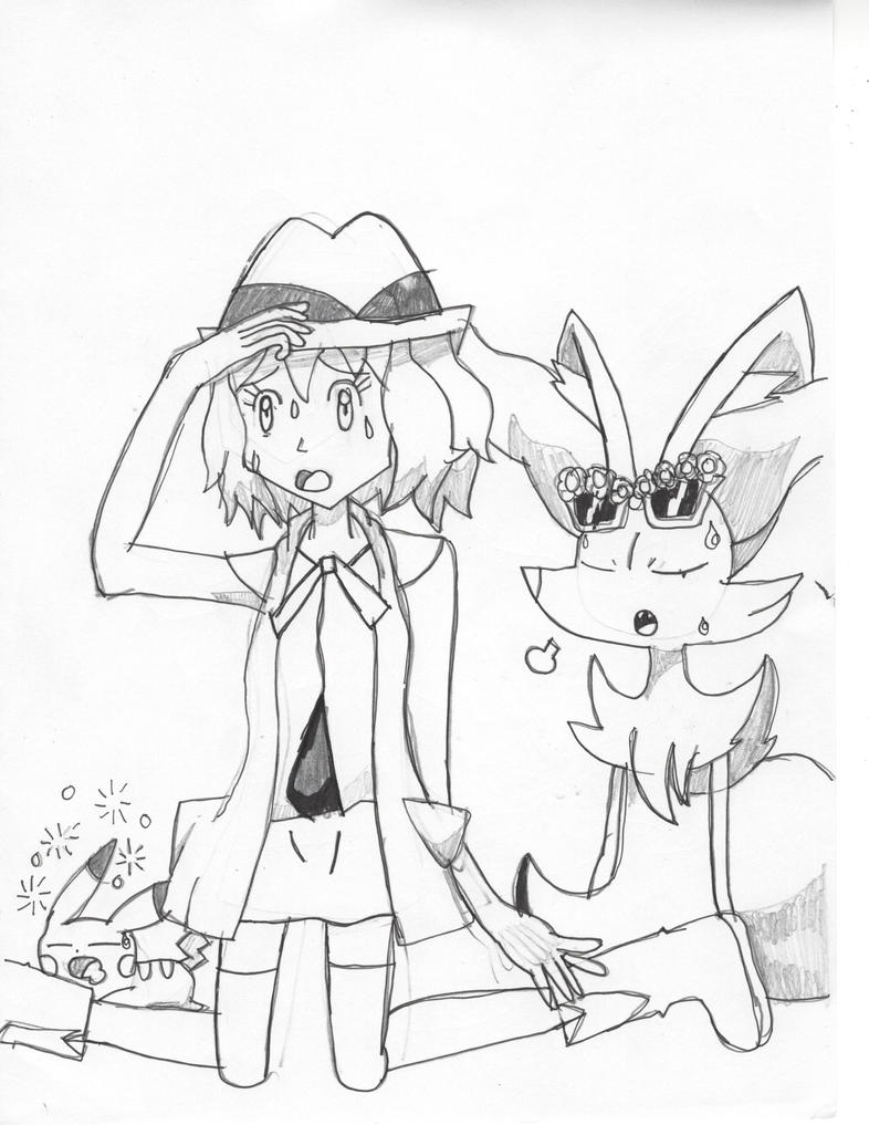 Serena's out of ideas. by Pikafan09