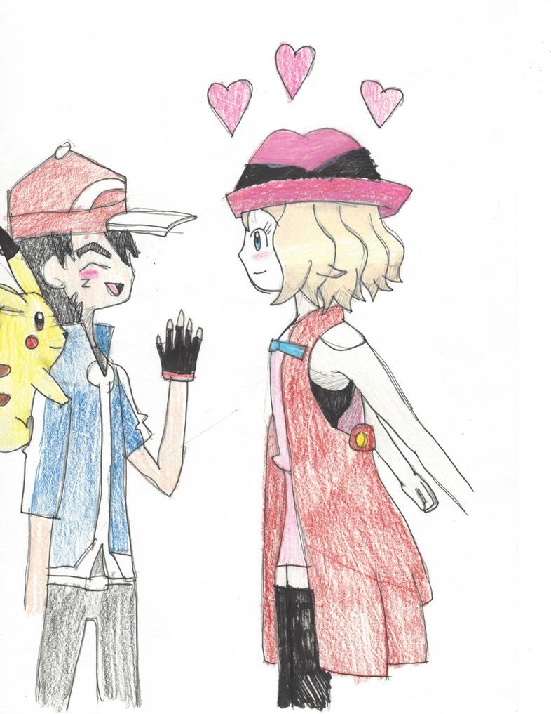 pokemon serena and ash dating