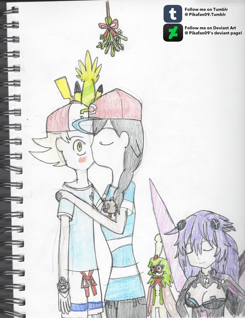 Trainer David X Selene- Christmas Gift pt.2 by Pikafan09 on DeviantArt
