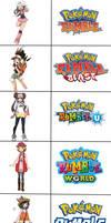 Pokegirls, and Pokemon Rumble Series