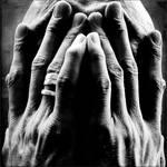 behind my hands