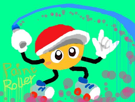 Paint Roller by DeekirbyDeeL