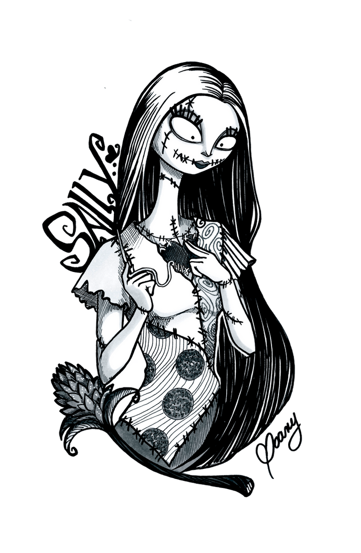 INKTOBER 2016 Nightmare before Christmas - Sally by Weirdream13 on ...