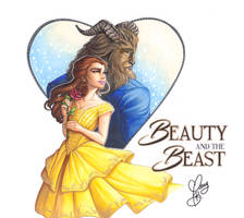 Beauty And The Beast 2017 by Weirdream13