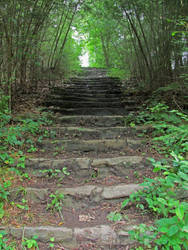 Stairway to the Beyond by MegaCharmoeleonX