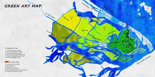 Green art map