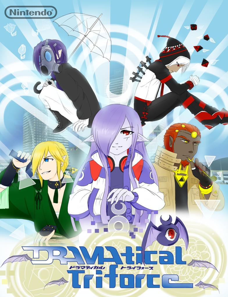 DRAMAtical Triforce by MayJasmine
