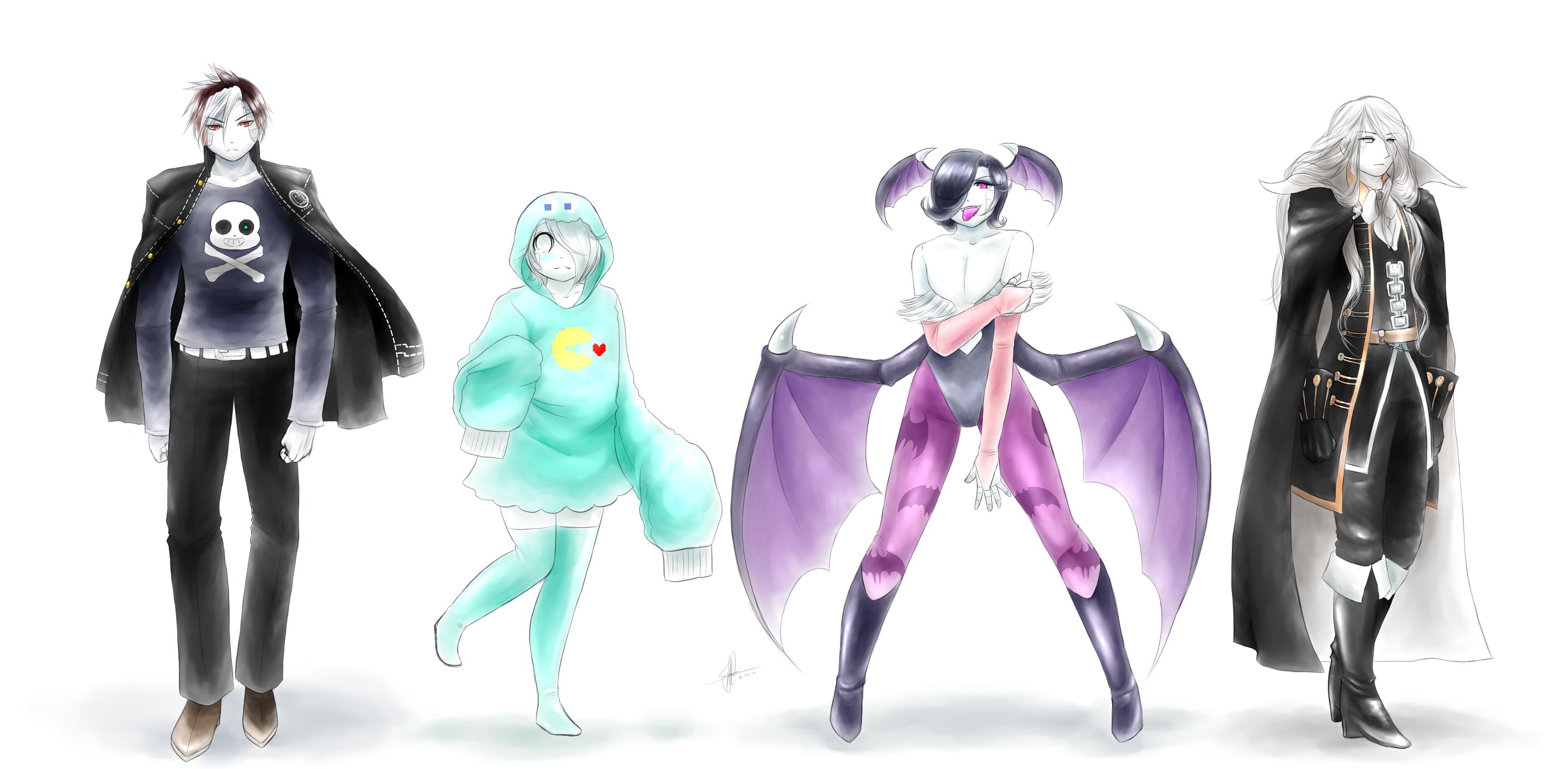 Undertale] Halloween!: ACID tears robots by MayJasmine on DeviantArt