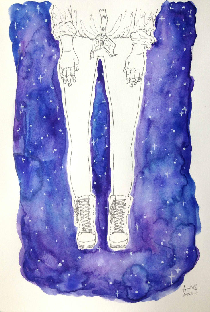 there's a universe beyond your tights by dreamstation369