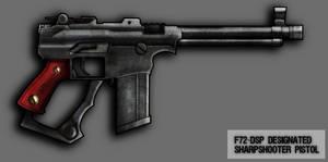 F72-DSP Mk I Pistol