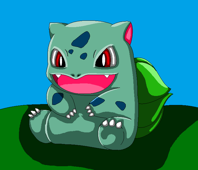 Bulbasaur, the First of Many by auroradragon93