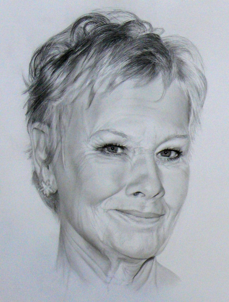 Dame Judy Dench by akalinz