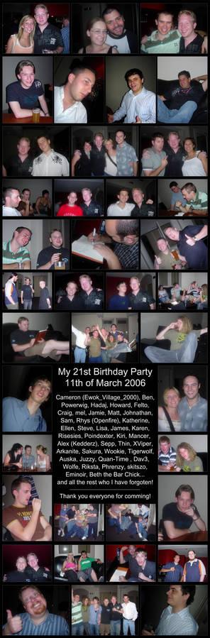 My 21st Birthday