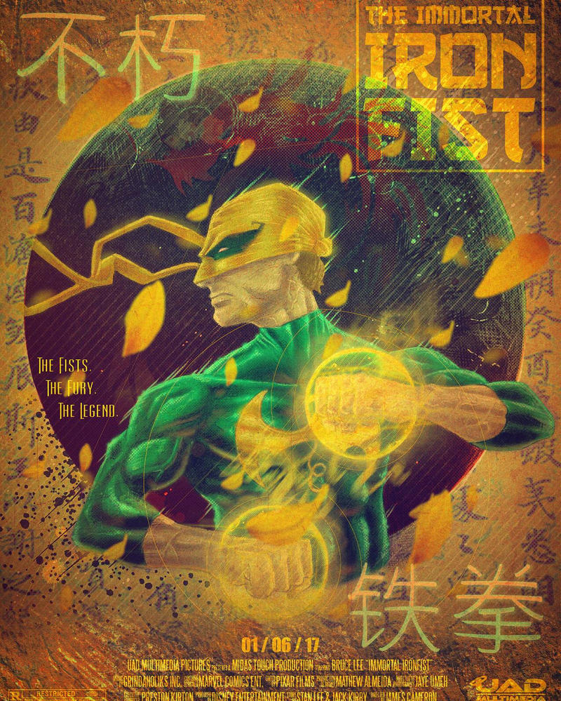 The Immortal Ironfist by UADMultimedia