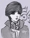 Emily Kaldwin [Inktober] by Melyuu