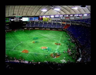 Tokyo Dome: The Yomiuri Giants by the-felix