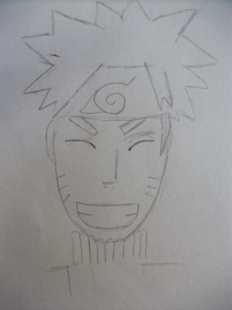Naruto Sketch by daughter-of-zeus