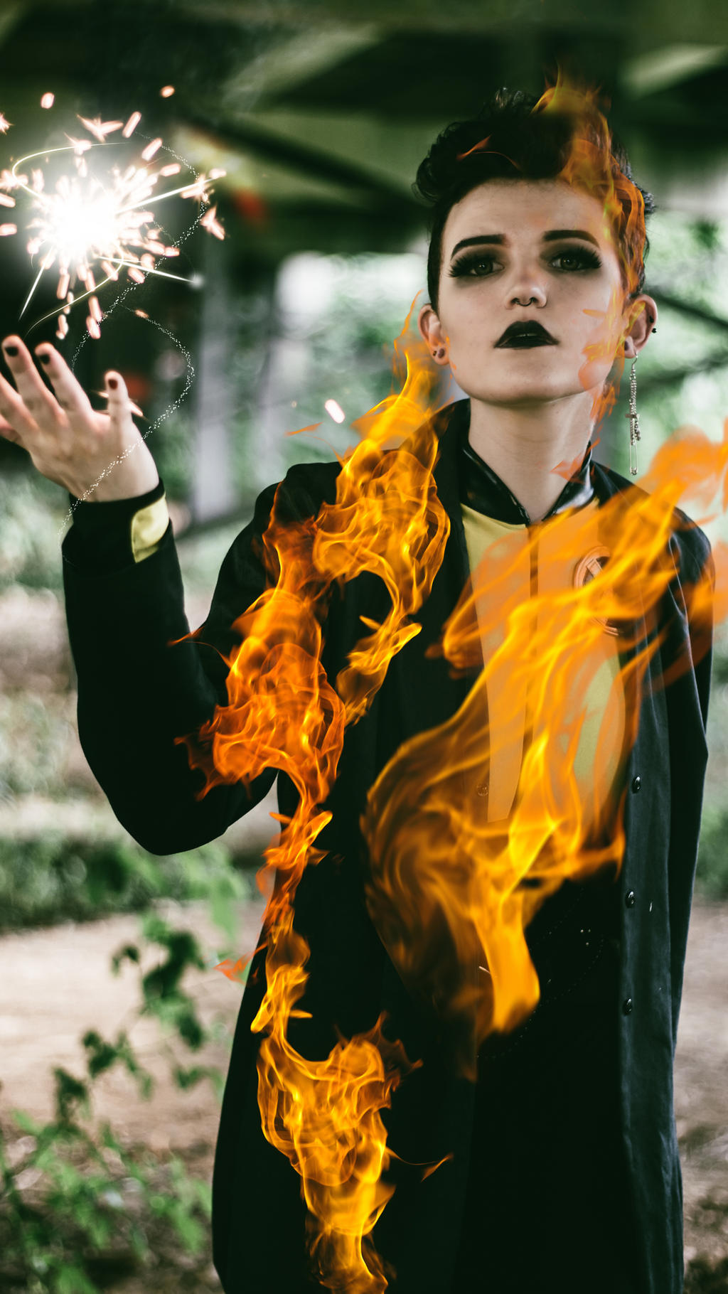 Negasonic Teenage Warhead Cosplay 3 by mblackburn